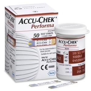 ACCU-CHEK PERFORMA 50 TIRAS